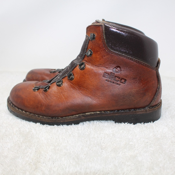 3c0cc491d7d Alico Tahoe Italy Vibram Sole Hiking Boots Size 10